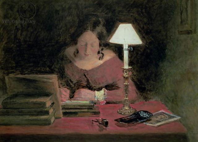 CHarlotte écrivant jane Eyre...