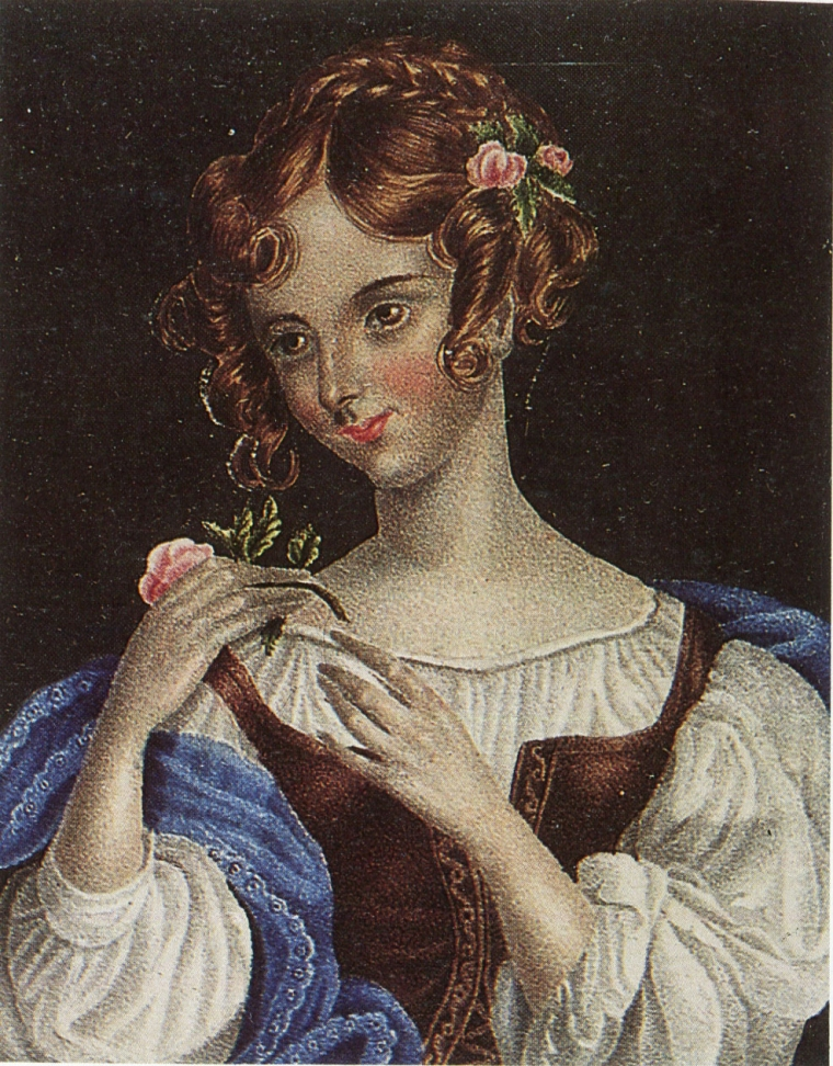 Charlotte Brontë, 1833, Brunette française