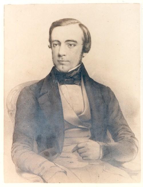 Ami et éditeur de Charlotte Brontë, George Smith