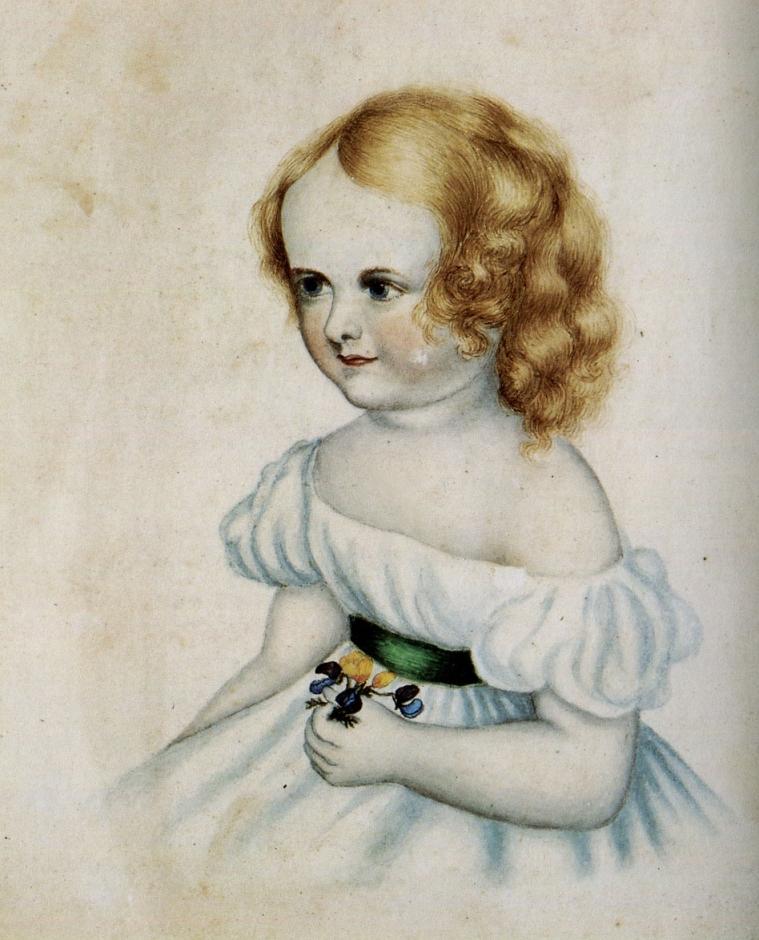 Anne Brontë, 1843, Petite fille