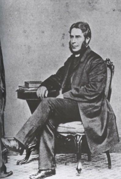 Arthur Bell Nichols, époux de Charlotte Brontë.