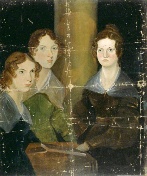 Portrait des soeurs Brontë par leur frère Branwell