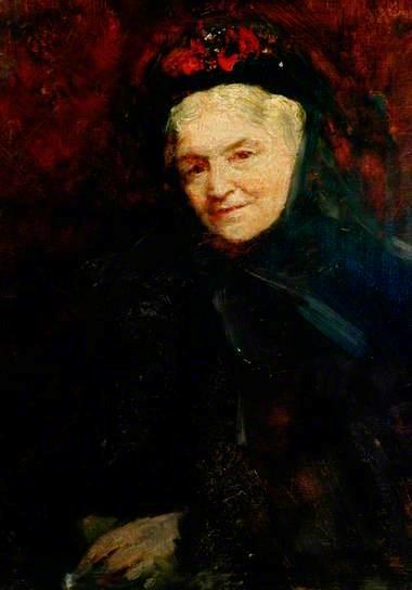 Ellen Nussey par Frederic Yates