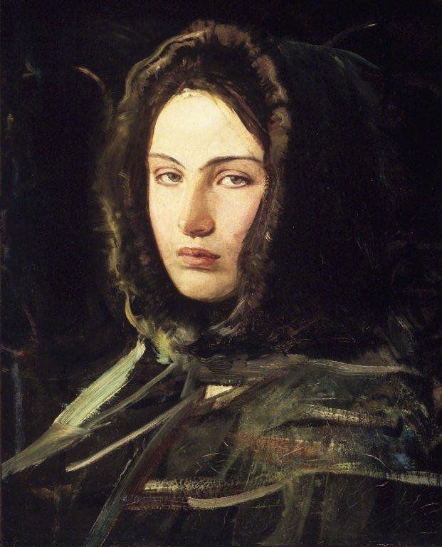 Emily secrète de farouche... © Abbot H.Thayer (1849-1921)