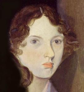 Emily par Branwell (portrait de groupe dit «à la colonne») c. 1834.