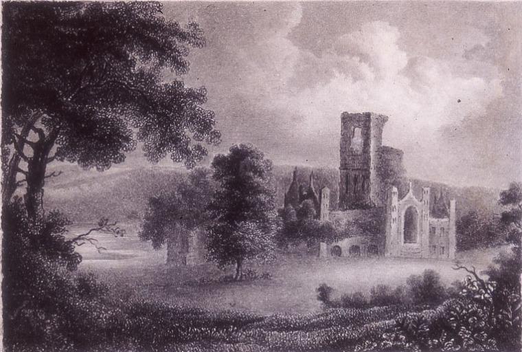 Charlotte Brontë, c mai 1834, Kirkstall Abbey
