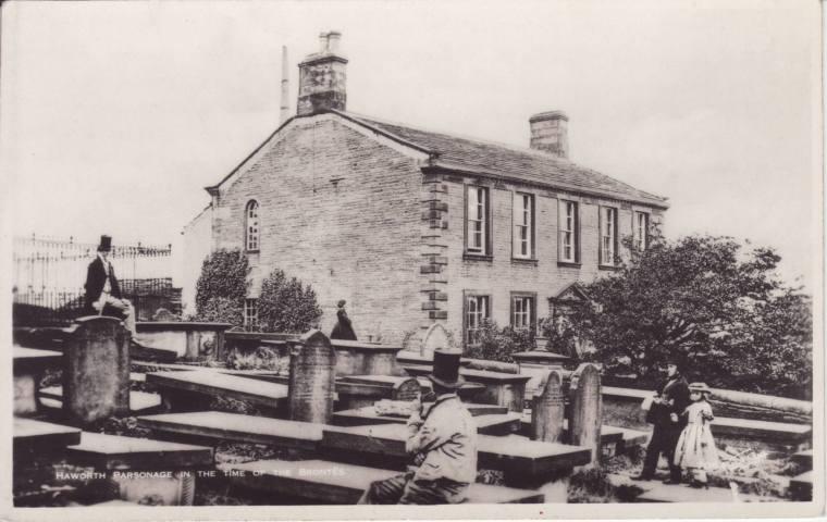 Presbytère d'Haworth vers la fin du 19e siècle.