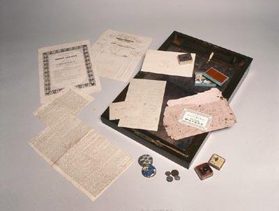 L'écritoire portatif d'Emily Brontë.