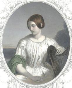 «L'exil», gravure de W. Edwards d'après W.P. Frith, c. 1840