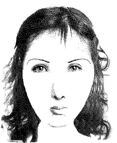 Portrait-robot d'Anne Brontë par Louise Sanfaçon. Ultimate Flash Face v0.42b.