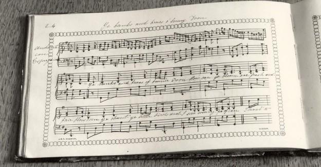 Livre de chansons d'Anne Brontë