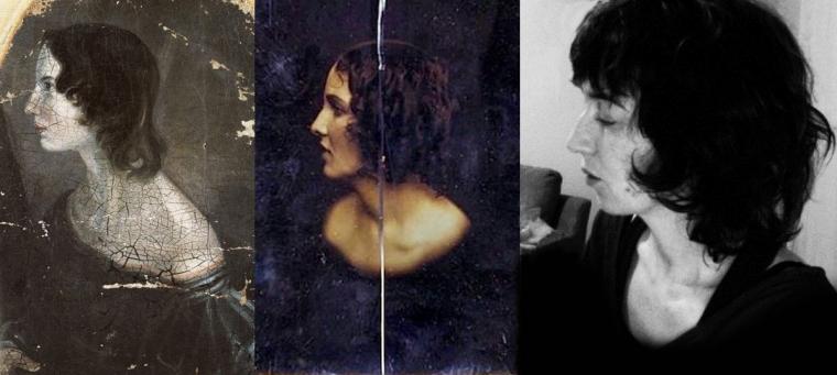 Emily Brontë / Inconnue, daguerreotype c1850 (Southworth & Hawes) / Photo de profil Facebook d'Isabelle Pruneau, Canada (publié avec sa permission)