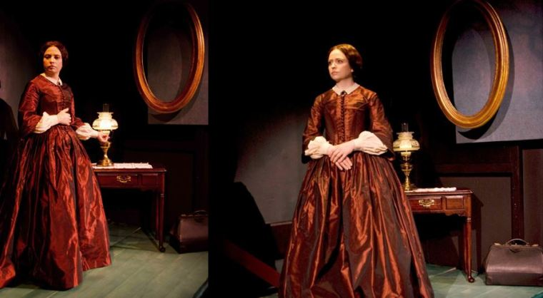 Costume de Camille Assaf pour la piece de William Luce «Brontë: A Portrait of Charlotte» au Alloy Theater Company à New York (USA).