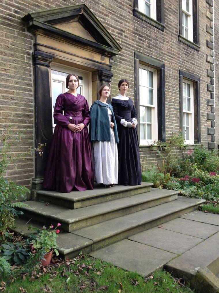 Marta, Karolina et Olga de Pologne au Musée Brontë (Haworth, Yorkshire, Angleterre)
