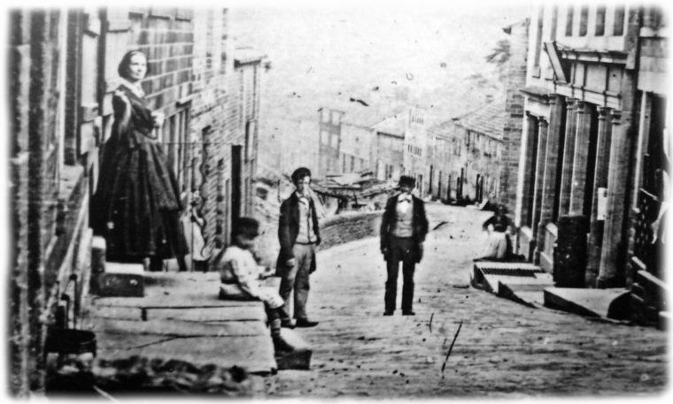 Rue d'Haworth vers 1870
