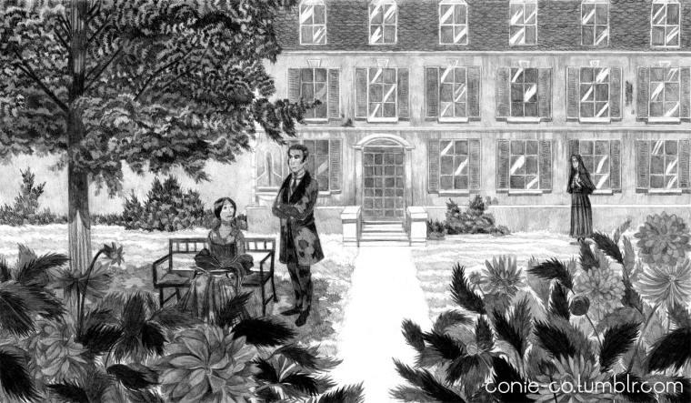 Jane Eyre © Coralie Nagel / Conie Co - «Finding Gondal - L'histoire des sœurs Brontë», 2015