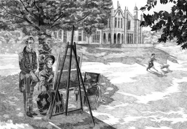 La locataire de Wildfell Hall © Coralie Nagel / Conie Co - «Finding Gondal - L'histoire des sœurs Brontë», 2015