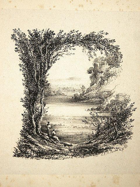 01 B pour Brontë gravure