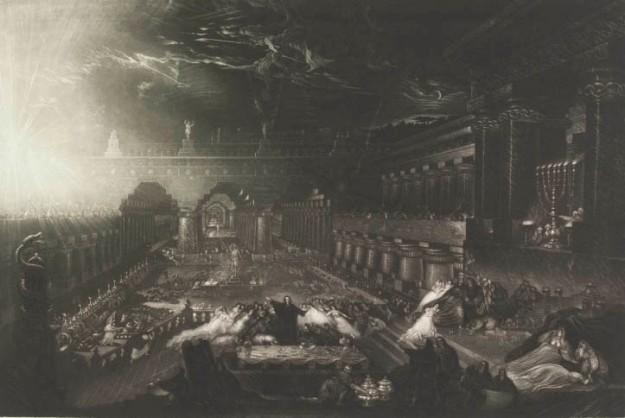 John Martin - «Le festin de Balthazar»